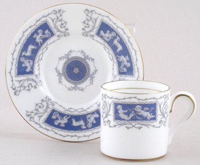 Coalport Revelry Coffee Can and Saucer