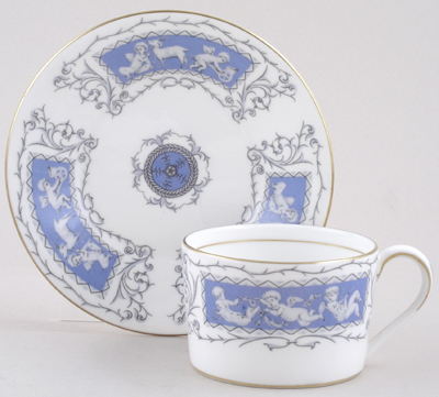 Coalport Revelry Cup and Saucer