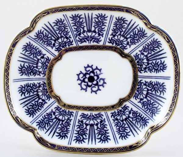 Coalport Wilton Lily Bread and Butter Plate c1885