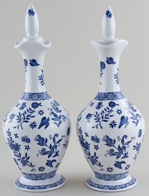 Decanters Pair of c1960s