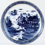 Bread and Butter or Cake Plate c1910