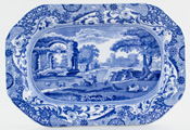 Spode Italian Meat Dish or Platter small c1922