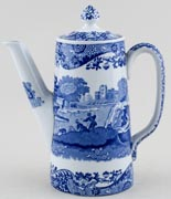 Spode Italian Coffee Pot c1930s