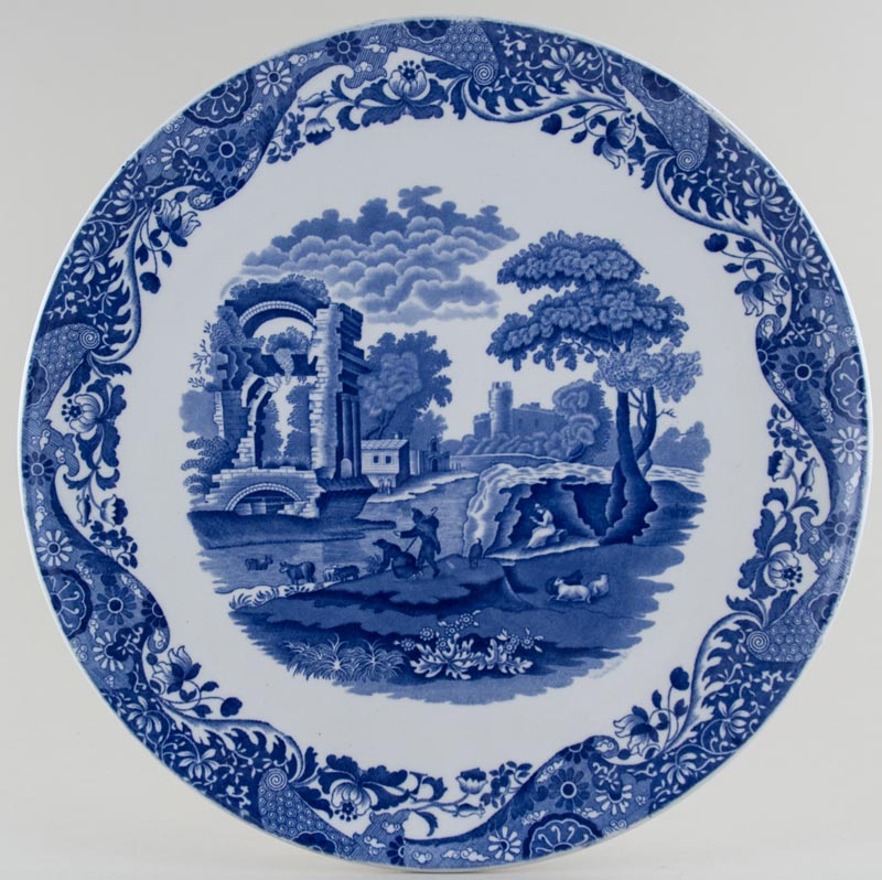 Spode Italian Wall Plaque c1917