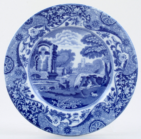 Spode Italian Plate c1920s and 1930s