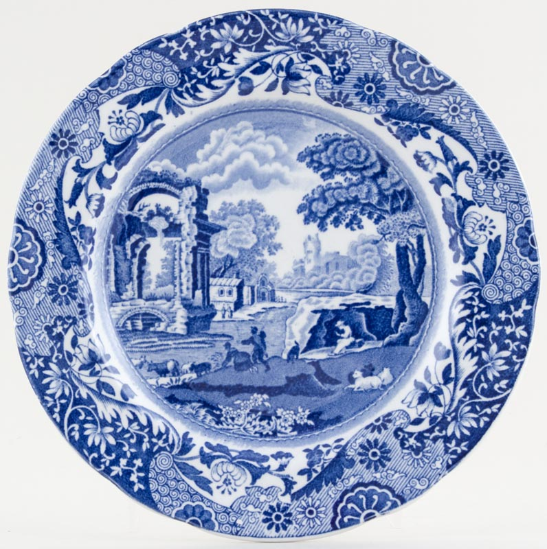 Spode Italian Plate c1930s to 1950s