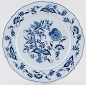 Japan Blue Danube Dinner Plate c1980s & 1990s