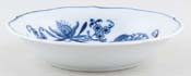 Japan Blue Danube Fruit Saucer c1980s & 1990s