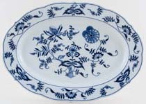 Japan Blue Danube Meat Dish or Platter c1980 & 1990s