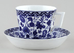 Cup and Saucer c1900