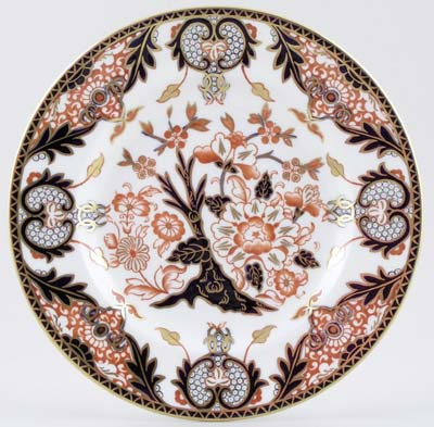 Royal Crown Derby Unidentified Pattern colour Plate c1965