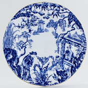 Royal Crown Derby Mikado Plate c1945