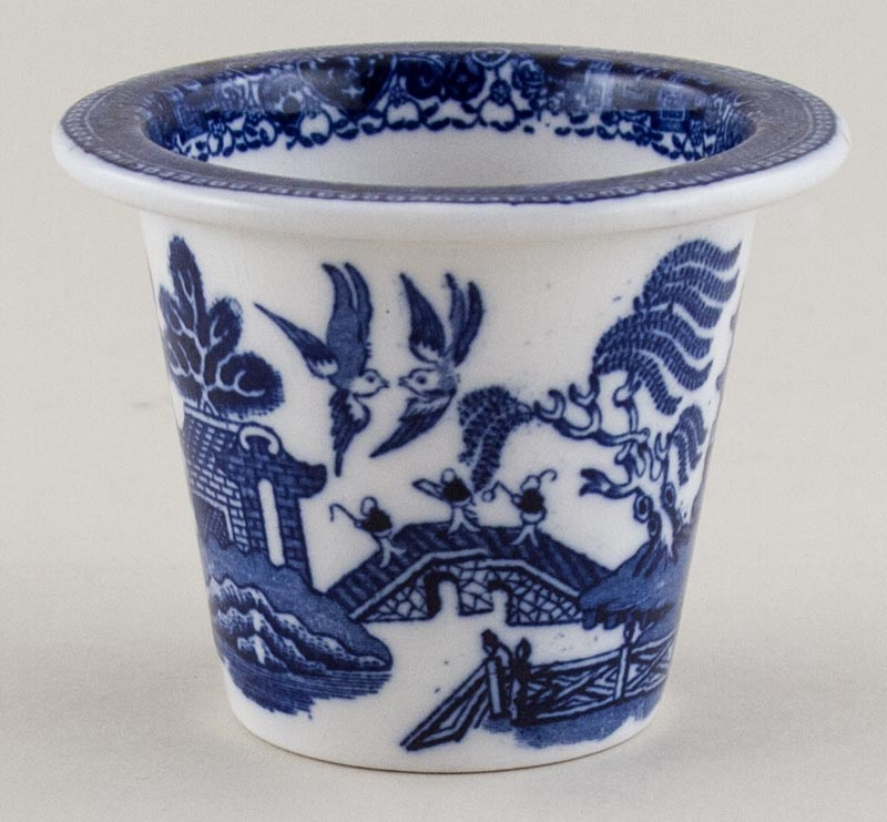 Royal Doulton Willow Meat Pot c1930s
