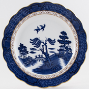 Royal Doulton Real Old Willow Plate c1980s or 1990s