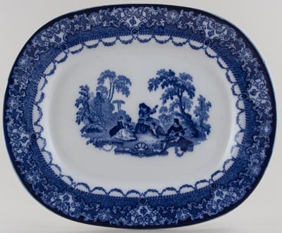 Meat Dish or Platter c1926