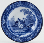 Toy Soup Plate c1900