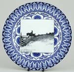 Plate They Take a Morning Run c1903