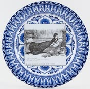 Plate She Looks For Relief c1903