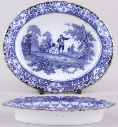 Doulton Watteau Dish small c1900