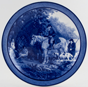 Royal Doulton Unidentified Pattern Plate c1934