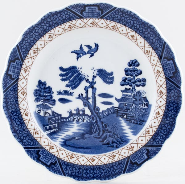 Royal Doulton Real Old Willow Plate c1980s