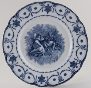 Royal Doulton Shakespeare Series Plate As You Like It c1905