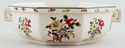 Royal Doulton Old Leeds Sprays colour Vegetable Dish Base Only c1930s