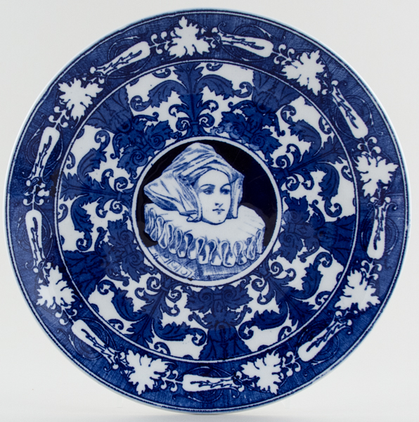 Royal Doulton Shakespeare Plate Anne Hathaway c1930