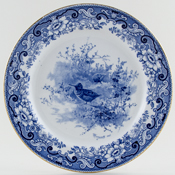 Royal Doulton Game Birds Plate Woodcock c1902