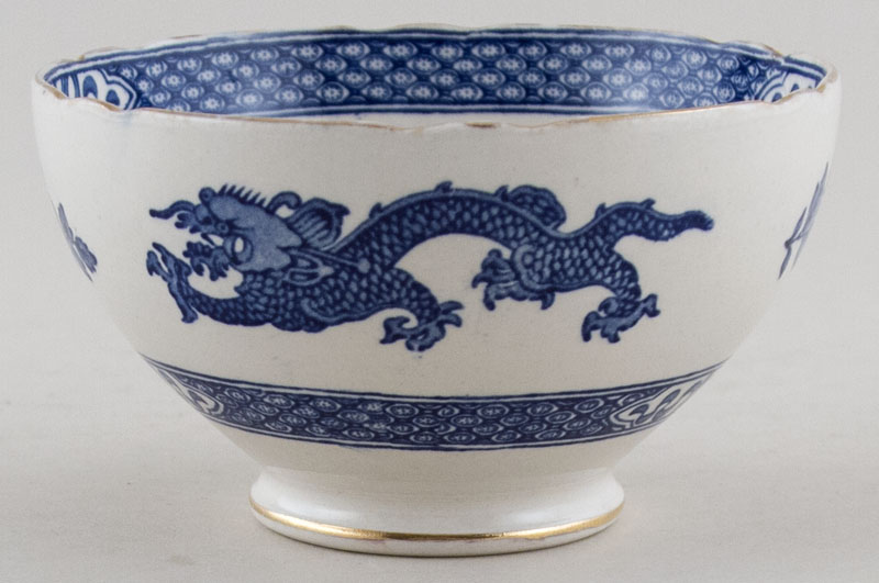 Cauldon Dragon Sugar Bowl c1950s