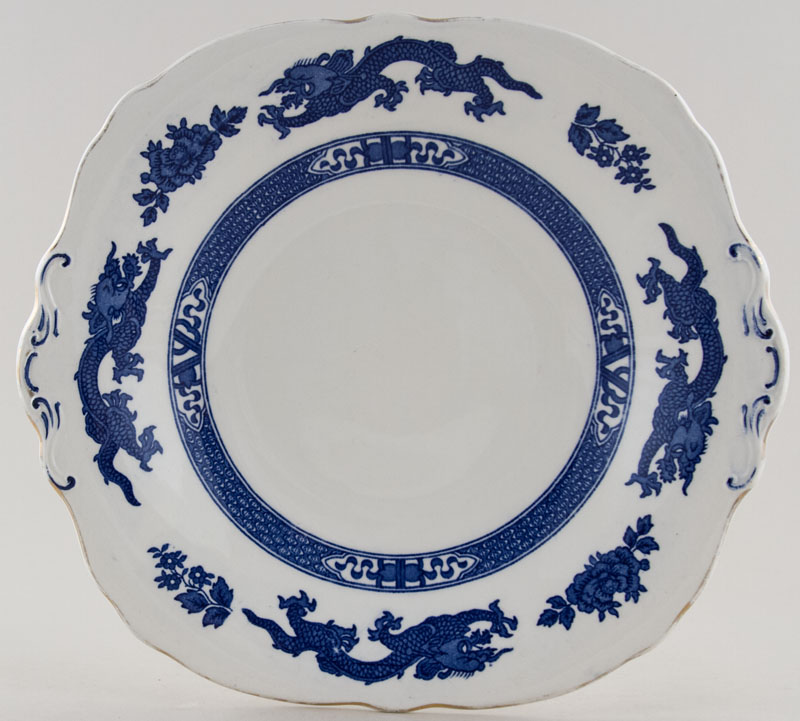 Cauldon Dragon Bread and Butter Plate c1960s