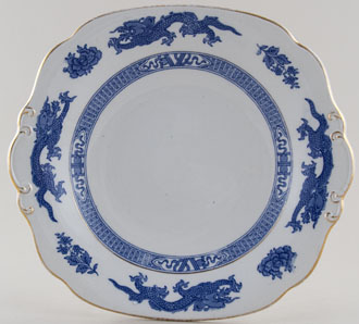 Cauldon Dragon Bread and Butter Plate c1930s