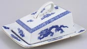 Cauldon Dragon Cheese Dish c1930s