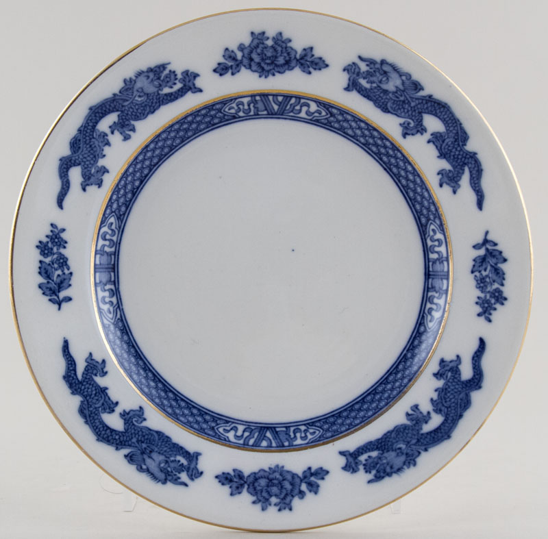Jones George Dragon Plate c1930s