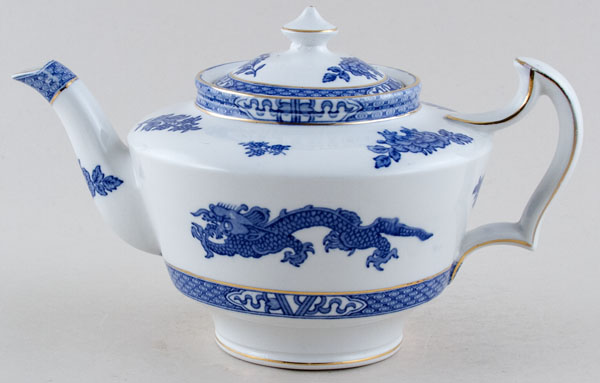 Cauldon Dragon Teapot c1930s