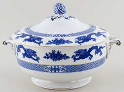 Cauldon Dragon Soup Tureen c1930s