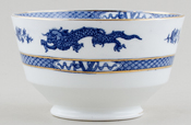 Crown Staffordshire Dragon Sugar Bowl c1930s