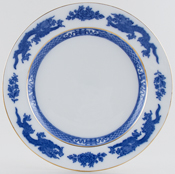 Cauldon Dragon Plate c1940