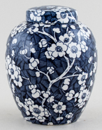 Empire Porcelain Hawthorn Ginger Jar c1930s