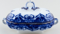 Covered Vegetable Dish c1906