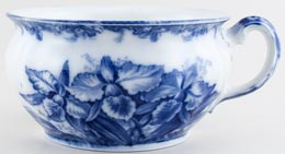 Wedgwood and Co Cattleyas Chamber Pot c1906