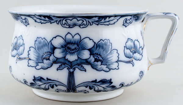 Ford Truro grey Chamber Pot c1895