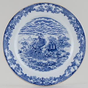 Forester Florentine Plate c1930s