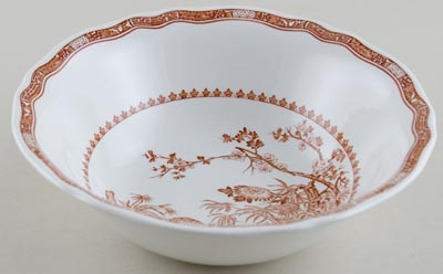 Furnivals Quail brown Bowl c1950s