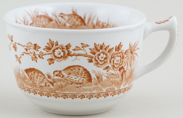 Furnivals Quail brown Teacup