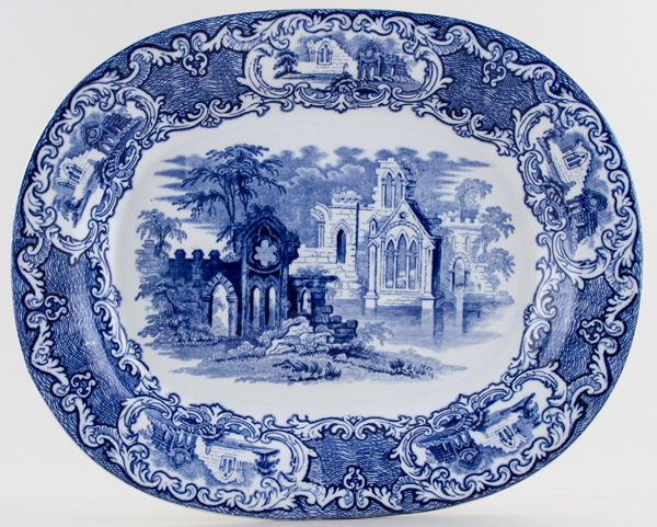 Jones George Abbey Meat Dish or Platter c1922