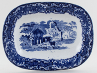 Jones George Abbey Sauce Tureen Stand c1920