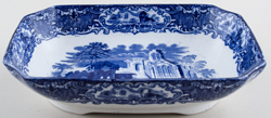 Jones George Abbey Dish rectangular c1920s
