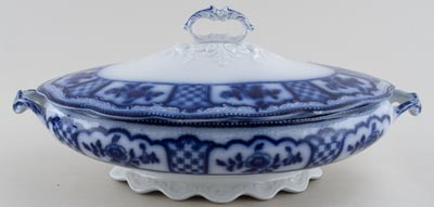 Grindley Melbourne Vegetable Dish with Cover c1900