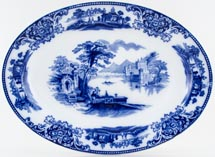 Grindley Shanghai Meat Dish or Platter c1925